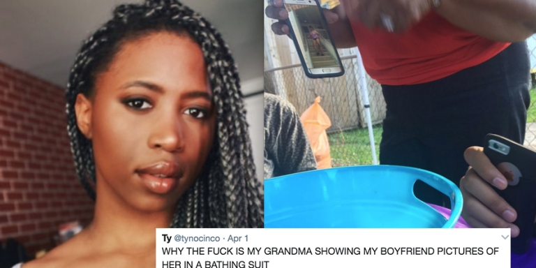 This Woman's Grandma Tried To Seduce Her Man Using Swimsuit Pics And Everyone Is Laughing Their AssesOff
