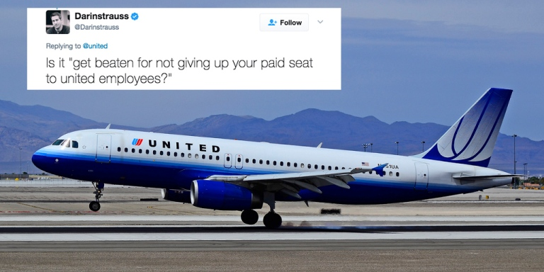 People Are Trolling United Airlines On Twitter After An Employee Violently Dragged A Man Off One Of TheirFlights