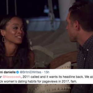 This Article Claimed 'The Bachelorette' 'Proved' Black Women Like Men Outside Their Race And People Are Pissed