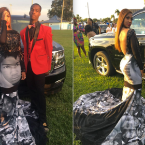 Why This 'Black Lives Matter' Prom Dress Is So Important To The Movement