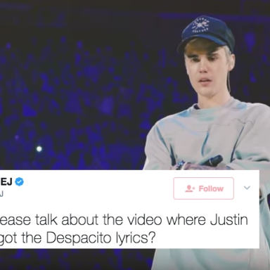 """Justin Bieber Replaced The Spanish Words In 'Despacito"""" With Gibberish And People Are Pissed"""
