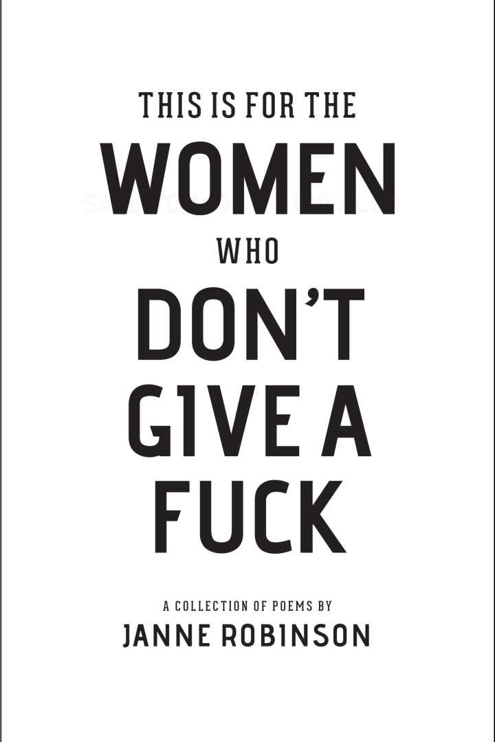 This Is For The Women Who Don't Give AFuck