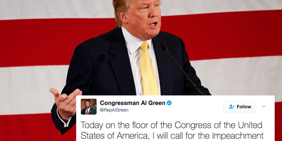 A Congressman Just Called For Trump's Impeachment And People On Twitter Have A Lot To Say About It