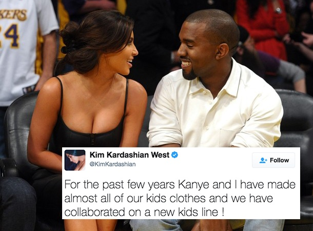 Kim and Kanye Are Dropping A New Children's Clothing Line And It'll Make You Want To Be A Kid Again