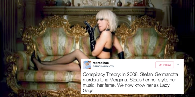 Forget Avril Lavigne, There's A New Twitter Conspiracy Theory About Lady Gaga And It's Actually FuckingTerrifying