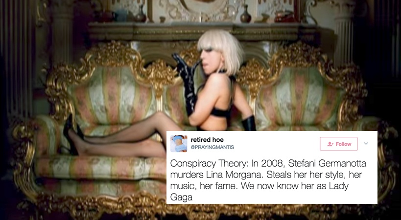 Forget Avril Lavigne, There's A New Twitter Conspiracy Theory About Lady Gaga And It's Actually Fucking Terrifying