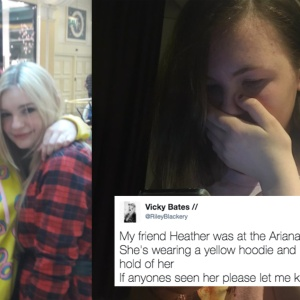Twitter Helped Reunite These Two Friends Who Were Separated During The Manchester Bombing