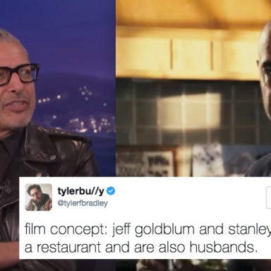 People On Twitter Just Came Up With A Hilariously Genius Movie Idea Starring Stanley Tucci And Jeff Goldblum