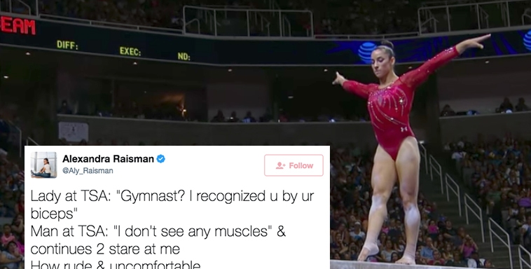 This Three-Time Gold Medal Gymnast Was Body-Shamed At The Airport And People On Twitter Had The PerfectComebacks