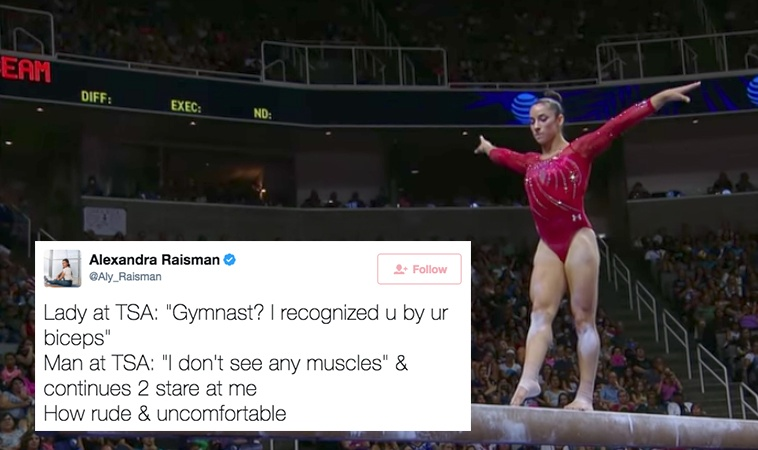 This Three-Time Gold Medal Gymnast Was Body-Shamed At The Airport And People On Twitter Had The Perfect Comebacks