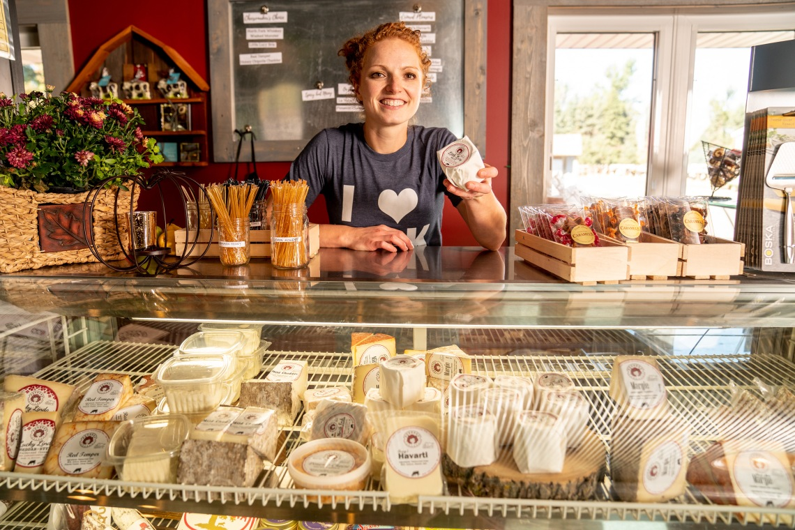 Redhead Creamery and community
