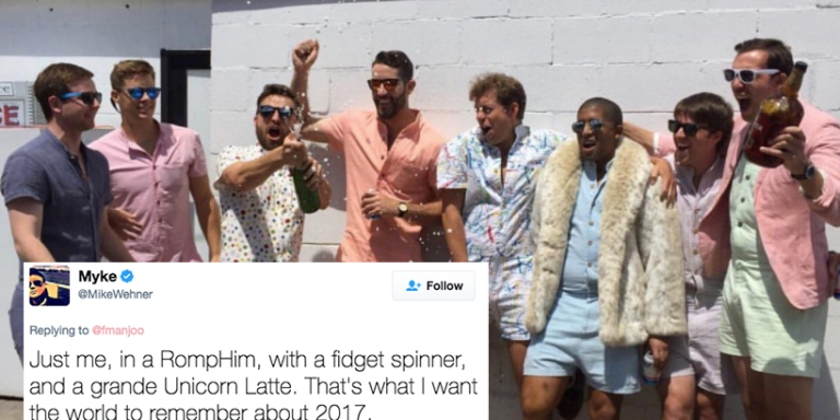 There's A New Romper For Men Called RompHims And It's Just Another Reason 2017 Is TheWorst