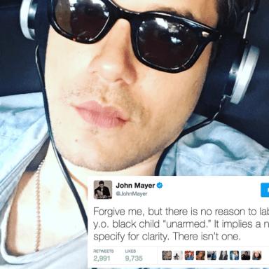May I Introduce You To John Mayer, Woke Daddy?