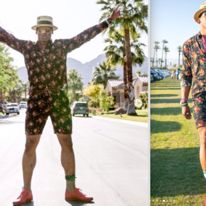 Panthers Quarterback Cam Newton Wore A Men's Romper Before It Was Cool And People On Twitter Are Losing It