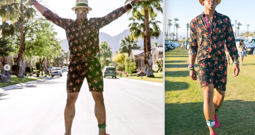 Panthers Quarterback Cam Newton Wore A Men's Romper Before It Was Cool And People On Twitter Are LosingIt
