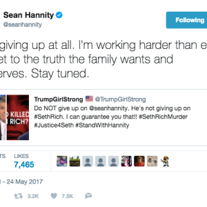 The Murder Conspiracy Theory Fox News' Sean Hannity Just Won't Let Go Of (Because Facts Lie?)