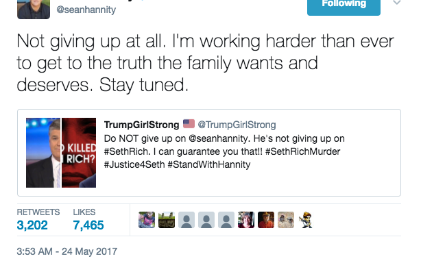The Murder Conspiracy Theory Fox News' Sean Hannity Just Won't Let Go Of (Because FactsLie?)