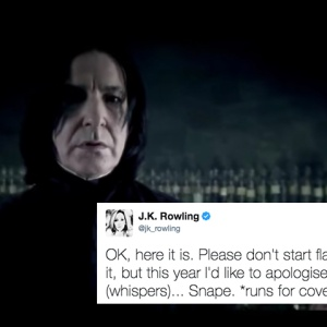 JK Rowling Just Apologized For Snape's Death On Twitter And People Don't Know How To Feel About It