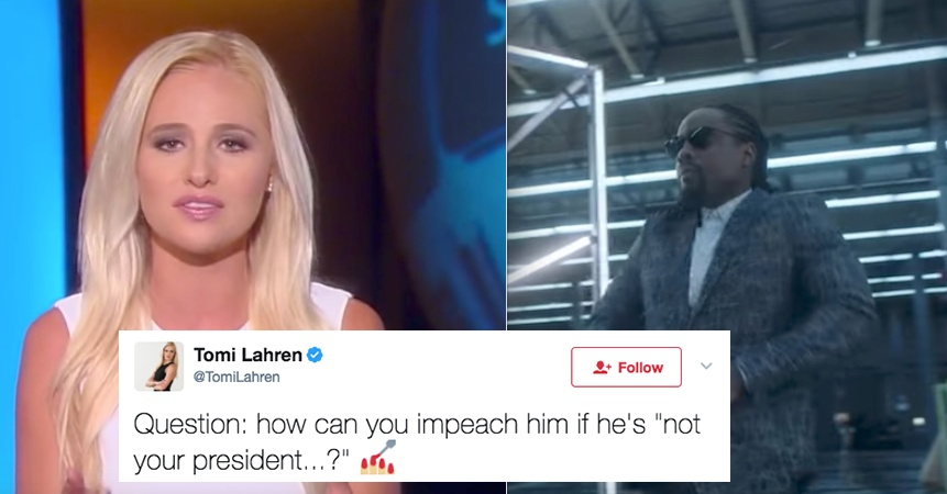 Rapper Wale Hilariously Dragged Tomi Lahren On Twitter And People Can't Get Enough OfIt
