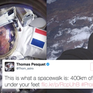 This Astronaut's Epic Tweets From Space Will Make You Want To Change Your Career Path Immediately