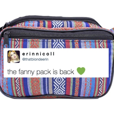 Fanny Packs Are (Finally) Coming Back And I Don't Care What You Think, I'm Stoked