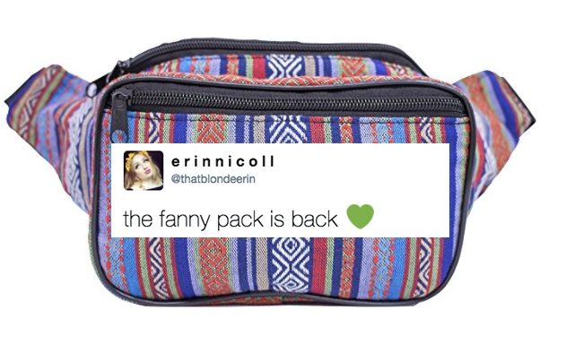 Fanny Packs Are (Finally) Coming Back And I Don't Care What You Think, I'mStoked