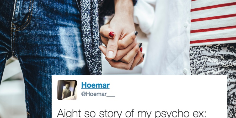 This Guy Tweeted Out The Insane Story Of His 'Lil Lunatic' Ex Girlfriend And I Am Shook
