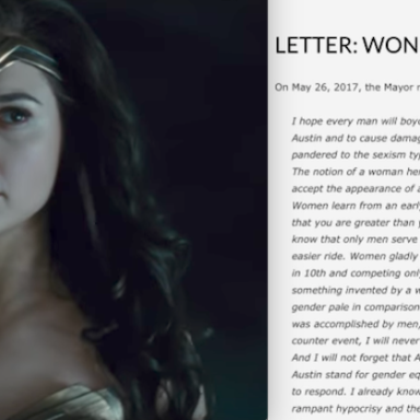 Austin's Mayor Had This Savage Response To A Man Complaining About The All-Female 'Wonder Woman' Screening