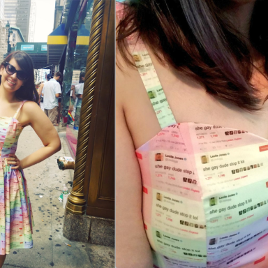 This Woman Turned A Leslie Jones Tweet Into A Dress For Pride Month And Now Everyone Wants One