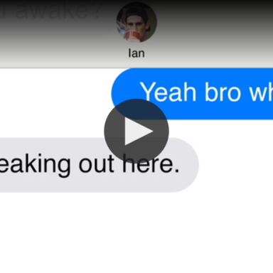 This Creepy Text Conversation Is Exactly Why You Should Never Go Camping Alone