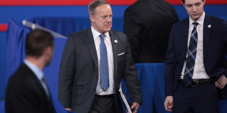 In Light Of Sean Spicer Resigning, Here's Our Favorite Memeable Moments Of His Time In The WhiteHouse