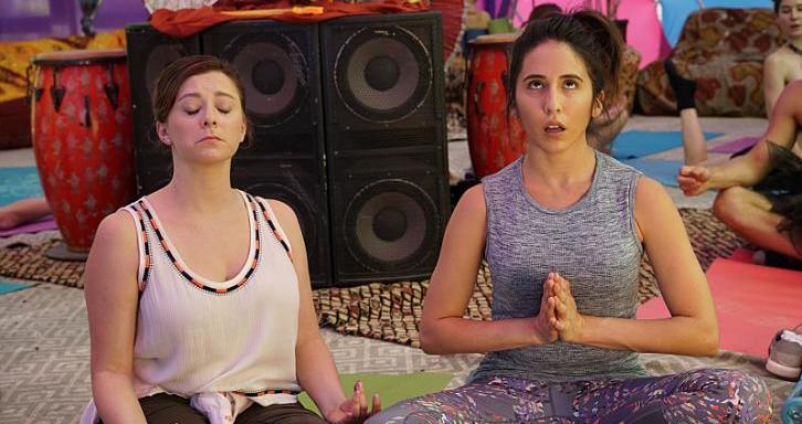 I'm So Excited To Announce That I Now Say'Namaste'