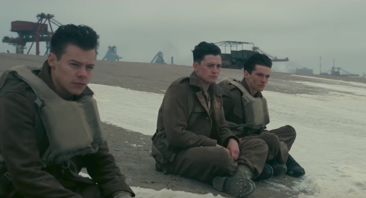 Harry Styles in Dunkirk as a solider