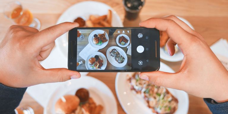 The Surprising Reason Why Taking A Photo Of Your Food Benefits YourHealth