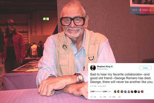 Horror Legend George A. Romero Has Died