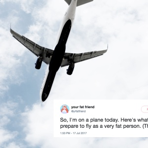 This Traveler Tweeted About What It's Like To Fly As 'A Very Fat Person' And It's Worse Than You'd Expect
