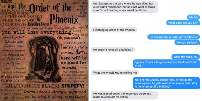This Guy Thought He Was Reading The Harry Potter Books, But It Was Actually A RaunchyFanfiction