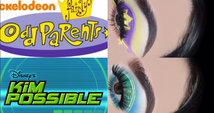 This Woman's Eye Makeup Was Inspired By All Your Favorite '90s Kid Shows And People On Twitter AreObsessed