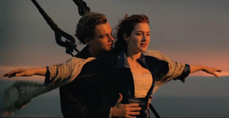 Jack And Rose on Titanic