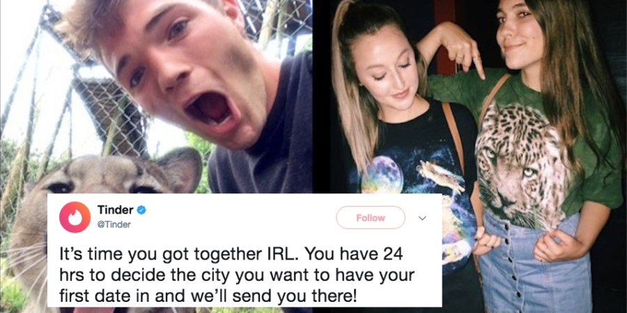 This Couple Took Two Full Years To Have A Conversation On Tinder, So The App Decided To Give Them A Little Push