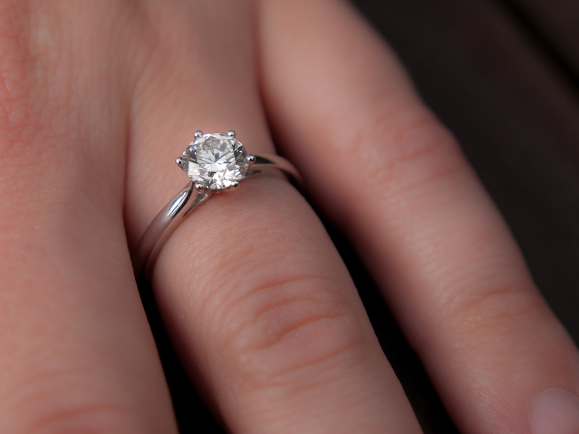 Women With Engagement Ring That Was Called Off