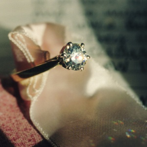 Engagement Ring From Man's Broken Engagement