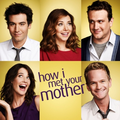 How I met your mother poster of all the characters