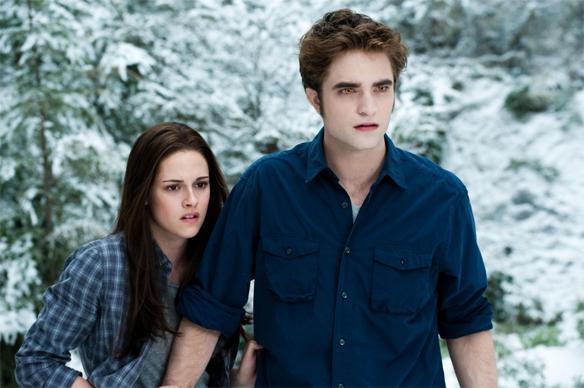 Edward and Bella Cullen in Twilight: Eclipse
