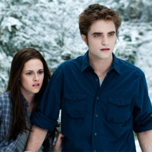 Edward and Bella Cullen in Twilight: Eclipse