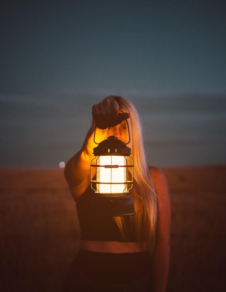 depression light girl open letter