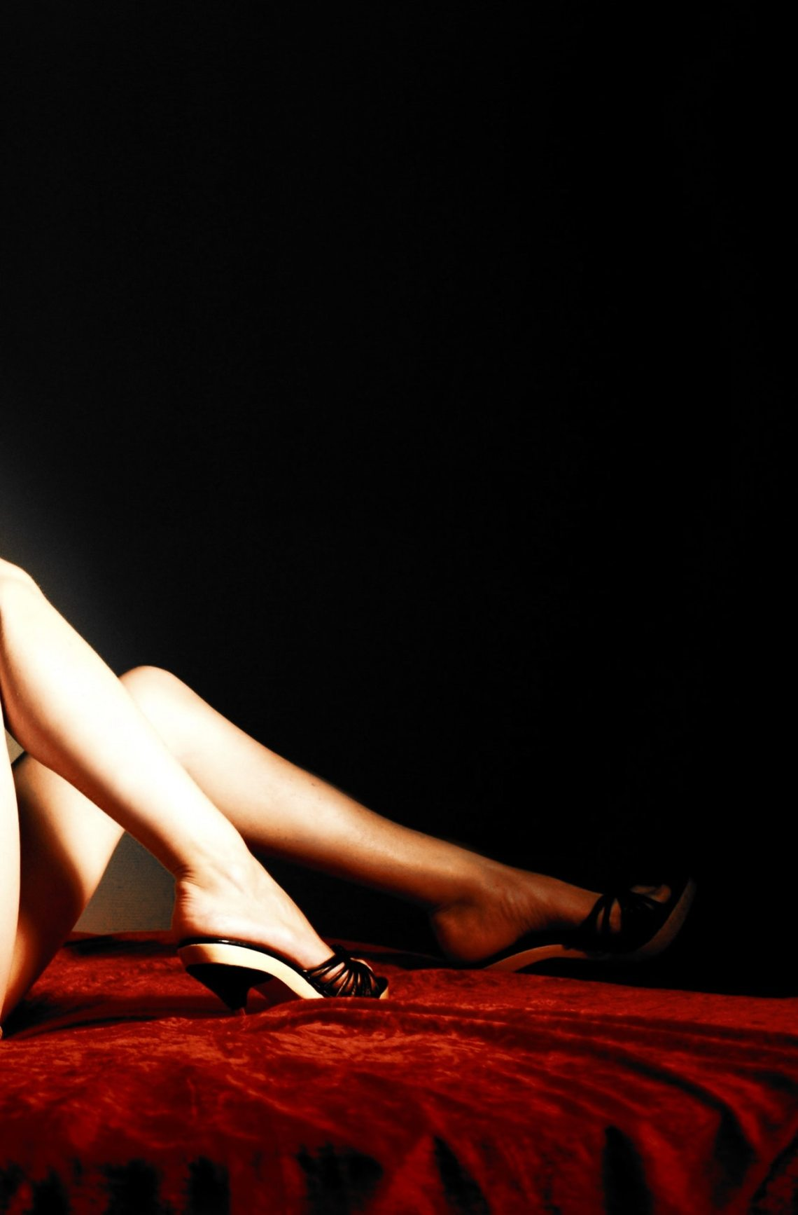 woman practicing BDSM