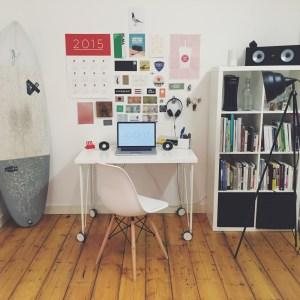 Simple minimalist room