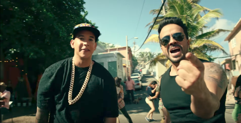 Luis Fonsi and Daddy Yankee in 'Despacito' Music Video