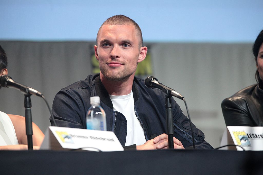 Ed Skrein at the San Diego Comic Con talking about Deadpool